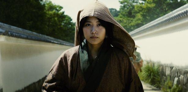 有村は本作が初の時代劇出演