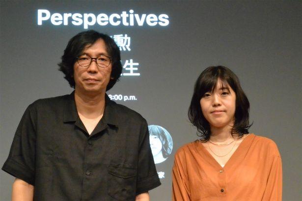 『ナラタージュ』の行定勲監督と原作者の島本理生がトークショー