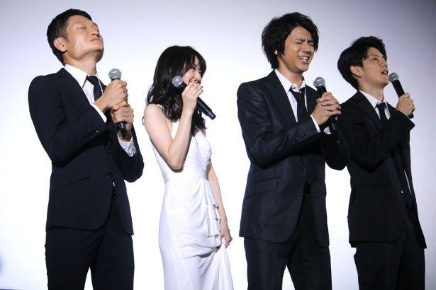 『闇金ドッグス7』の初日舞台挨拶でまさかの選択!?