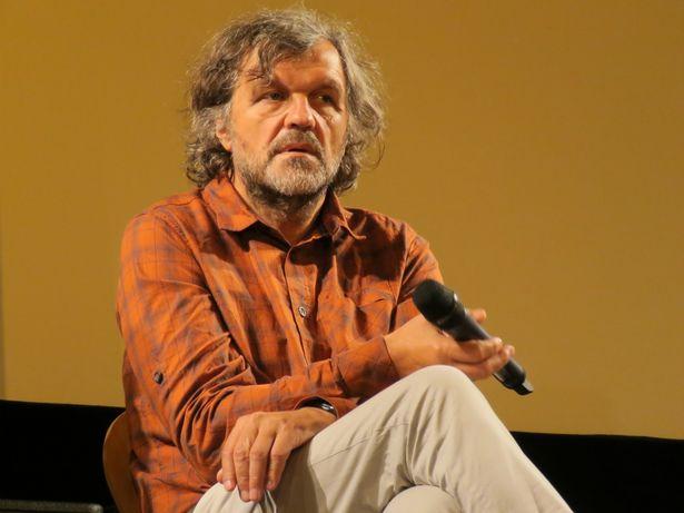 舞台挨拶に登壇した巨匠エミール・クストリッツァ監督