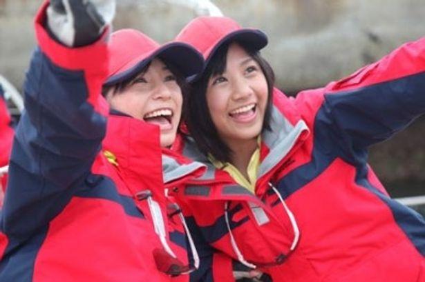 入来茉里(左)と田中あさみ(右)という新星ヒロインの活躍に大いに期待したい