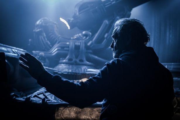 リドリー・スコット監督が、エイリアンの秘話を明かす!