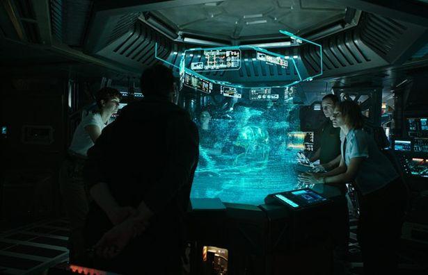 人類移住計画のために宇宙船コヴェナント号に乗船した人々