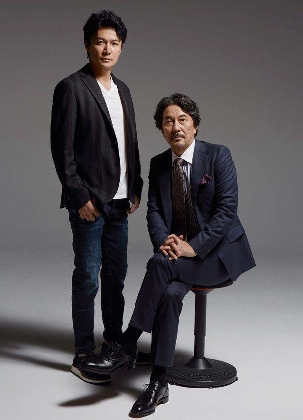 『三度目の殺人』の福山雅治と役所広司にインタビュー
