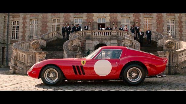 【写真を見る】撮影のために作られたフェラーリ250GTO