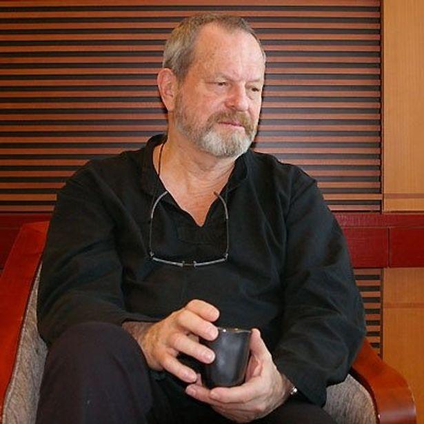 【写真】悲劇的なヒースの死に、一度は映画をあきらめたと告白する沈痛な面持ちのテリー・ギリアム監督