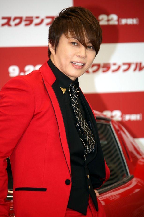 西川貴教が『スクランブル』のイベントに登壇