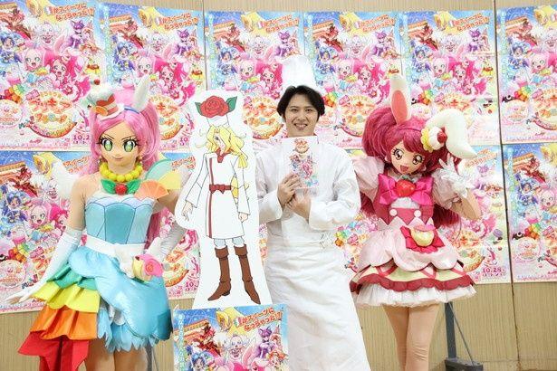 「映画キラキラ☆プリキュアアラモード パリッと!想い出のミルフィーユ!」でゲスト声優を務める尾上松也
