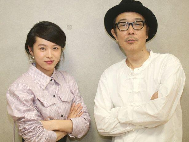 『パーフェクト・レボリューション』で共演したリリー・フランキーと清野菜名
