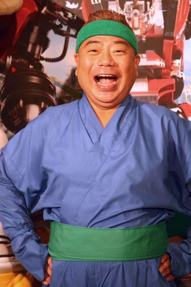 『レゴ(R)ニンジャゴー ザ・ムービー』で7役の声優を務めた出川哲朗