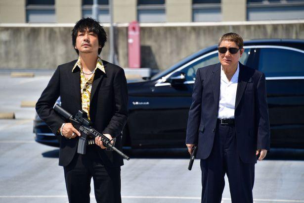 『最終章』で帰国した大友は、花菱会・西野と再び対峙。一触即発か、それとも…!?
