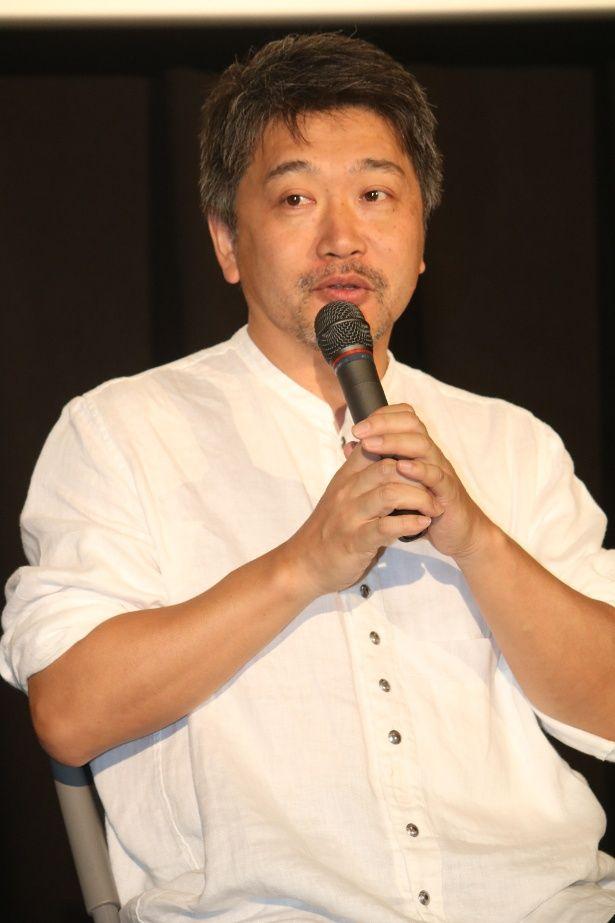 『三度目の殺人』のティーチインに登壇した是枝裕和監督