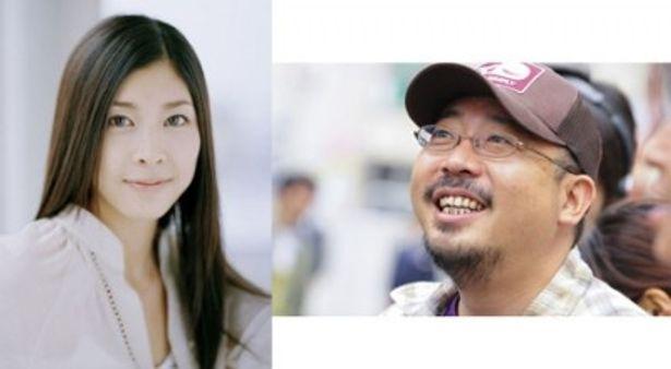 「ジェネラル・ルージュの凱旋」に主演する竹内結子(写真左)と監督の中村義洋(同右)