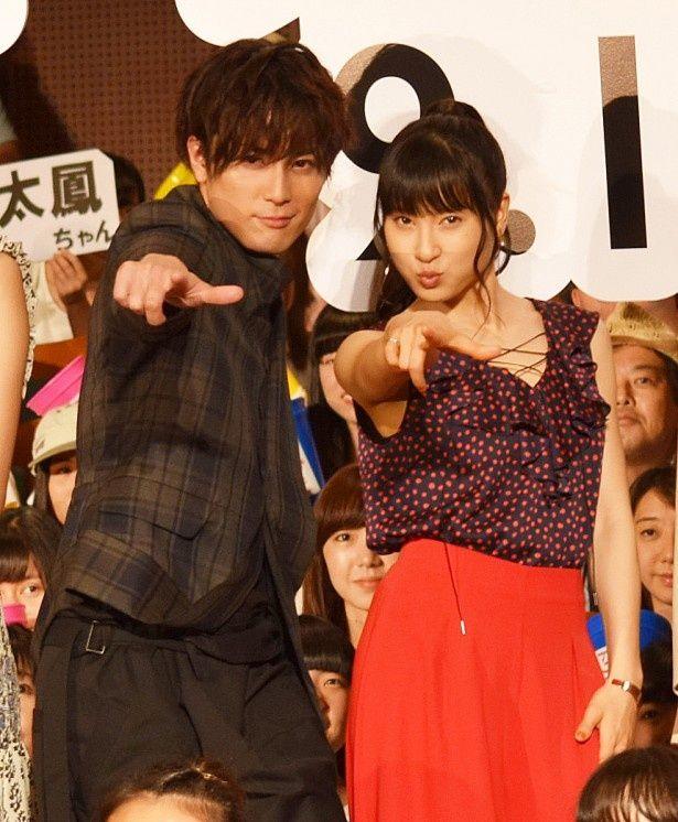 「トリガール!」に出演した土屋太鳳は最優秀新進女優賞、間宮祥太朗は最優秀新進男優賞を受賞した