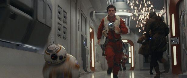 レジスタンスのエースパイロットのポーや、BB-8の活躍にも期待