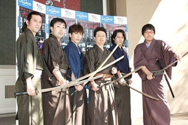 人気芸人6人がそれぞれ演出を手掛けたユニットコント「六人の侍」がついにDVD化