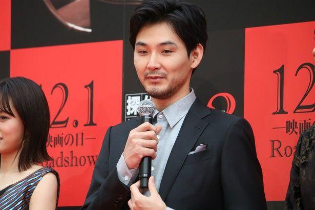 探偵の相棒・高田役の松田龍平