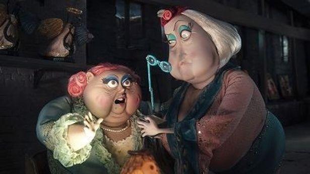 現実世界のおばさん、ミス・スピンクとミス・フォーシブルは――