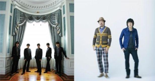 ゴスペラーズ(左写真)とスキマスイッチ(同右)のラブソングが映画化! 本人出演のスペシャル特典映像の上映も