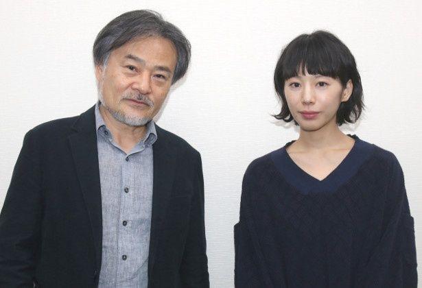 『予兆 散歩する侵略者 劇場版』の主演女優・夏帆と黒沢清監督