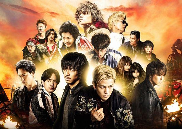 窪田正孝や林遣都といった若手実力派俳優も出演する「HiGH&LOW」シリーズ