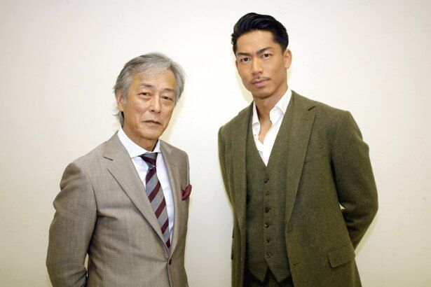 『HiGH&LOW THE MOVIE 3 / FINAL MISSION』で共演したAKIRAと岩城滉一