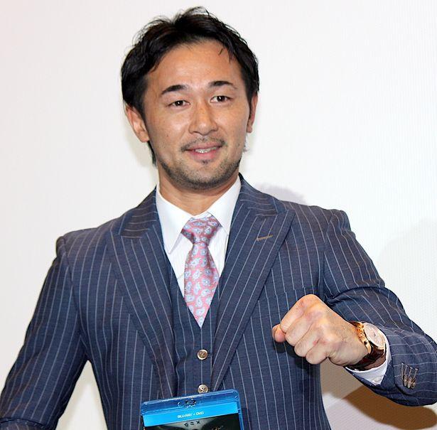 ボクシング山中慎介がPRイベントに初参戦!