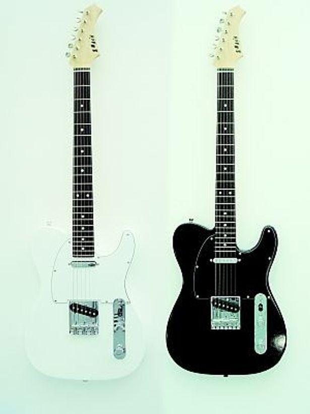 見た目もクールな破壊専用ギター「SMASH」