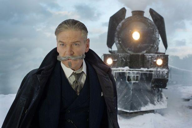"""ケネス・ブラナーが名探偵""""ポアロ""""を演じる『オリエント急行殺人事件』。列車内で起きた殺人事件に挑む!"""