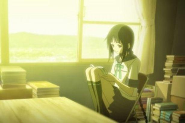『文学少女』は、プロダクションI.G.が描くちょっと不思議な女の子が主人公の物語