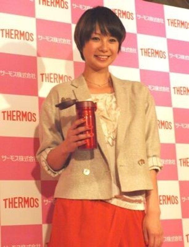 モデルの田中美保さん