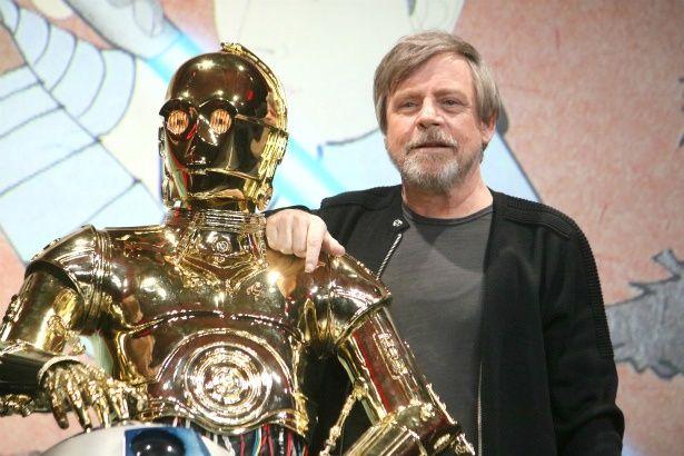 C-3POとルークの2ショット