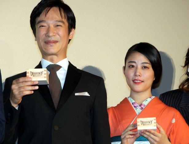 初共演で夫婦役を演じた堺雅人と高畑充希