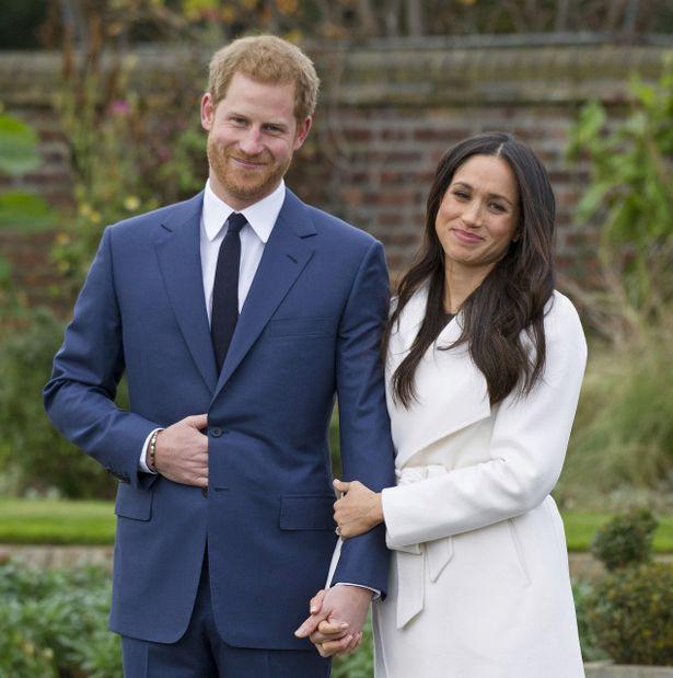先日、婚約が発表されたばかりのヘンリー王子とメーガン・マークル