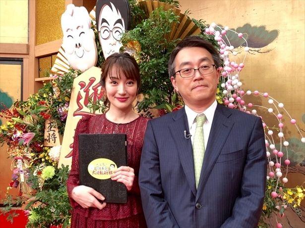 初MCで憧れの羽生善治氏と共演し、感激する高梨臨