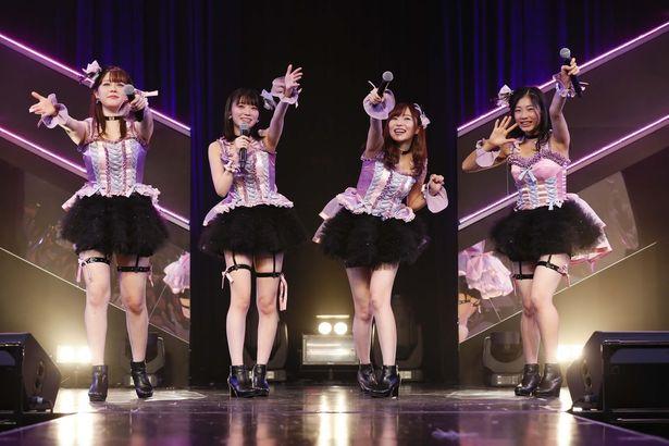 HKT48ひまわり組「誘惑のガーター」公演より