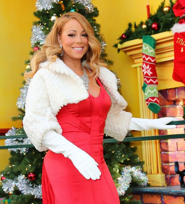 2015年クリスマスのマライア
