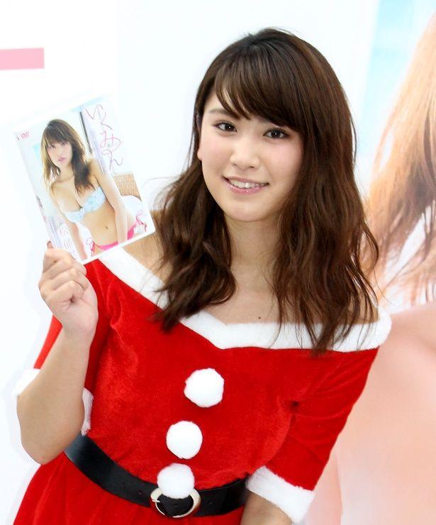 DVD「いくみん~IQ→S391HJ062007~」発売記念イベントを行った久松郁実