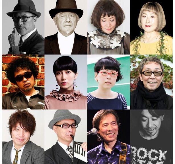 高橋幸宏さんや柴咲コウさんら豪華アーティストが「The おそ松くんズ」として第2クールのエンディングテーマに参加!