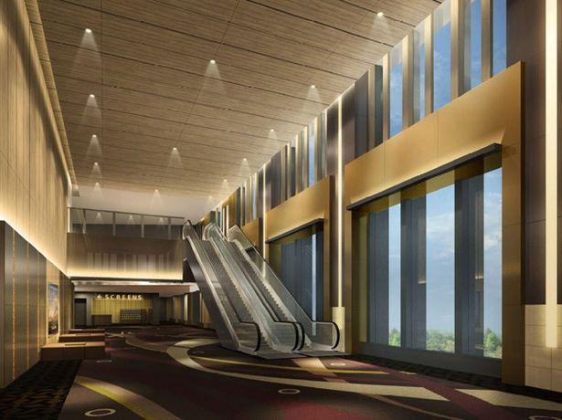 """【写真を見る】TOHOシネマズ 日比谷は""""映画の宮殿 THE MOVIE PALACE""""がコンセプトのラグジュアリーな空間となりそう"""