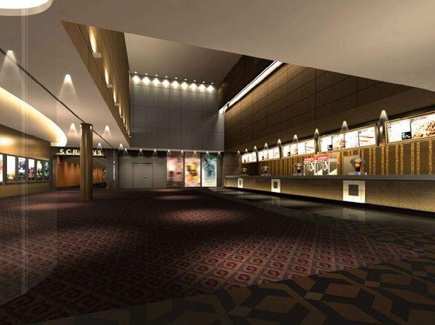TOHOシネマズ 日比谷は11スクリーン、約2300席という大きさで都内のTOHOシネマズ最大級のシネコンとなる予定だ