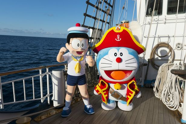 のび太とドラえもんが宝島を探しに大冒険!