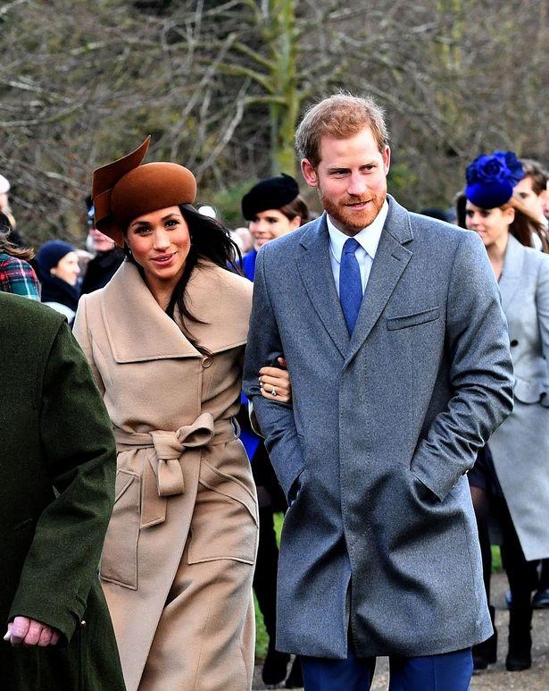 5月に挙式を控えるヘンリー王子とメーガン