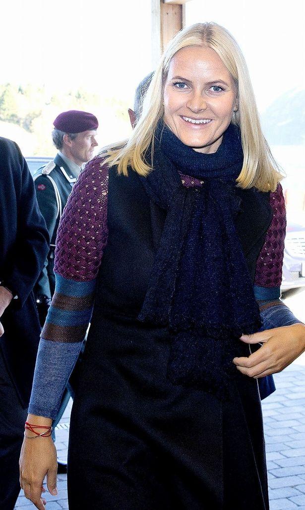 ノルウェー王室のメッテ=マリット王太子妃