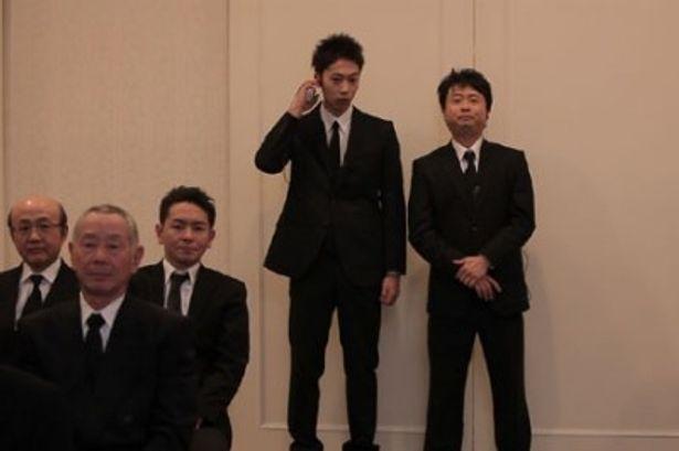 気になる主演ははんにゃの金田哲と次長課長の河本準一