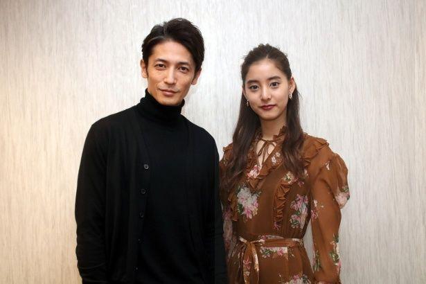 『悪と仮面のルール』で共演した玉木宏と新木優子