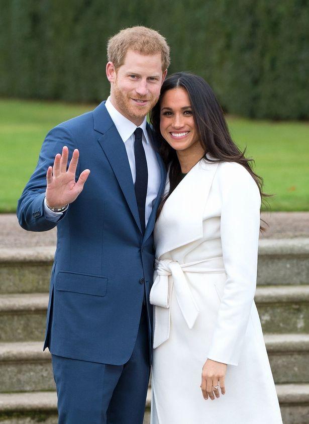 婚約を発表したヘンリー王子とメーガン