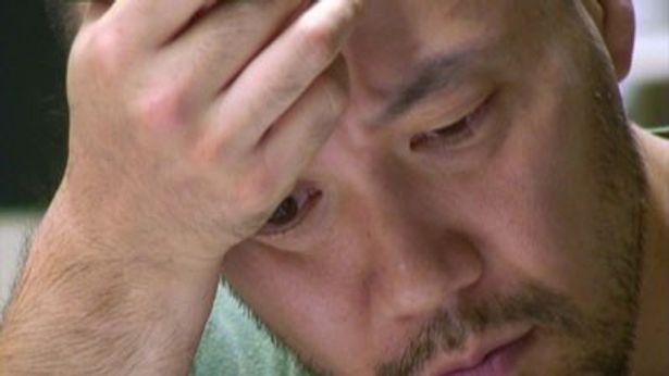 真剣な表情と眼差しが、仕事への厳しさや熱い思いを物語る