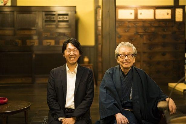 本屋大賞ノミネートの『騙し絵の牙』著者塩田武士が筒井康隆とSP対談!