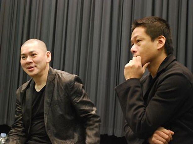 台湾映画界の巨匠・蔡明亮(ツァイ・ミンリャン)と、長年コンビを組んできた俳優・李康生(リー・カンション)